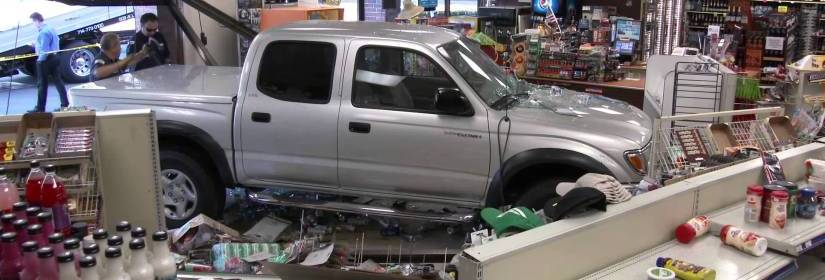 South Dakota Man Allegedly Breaks into Store Using Car